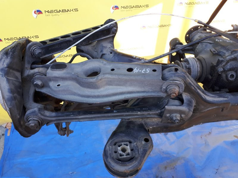 Ступица Bmw X1 E84 N46B20 2009 задняя левая (б/у)