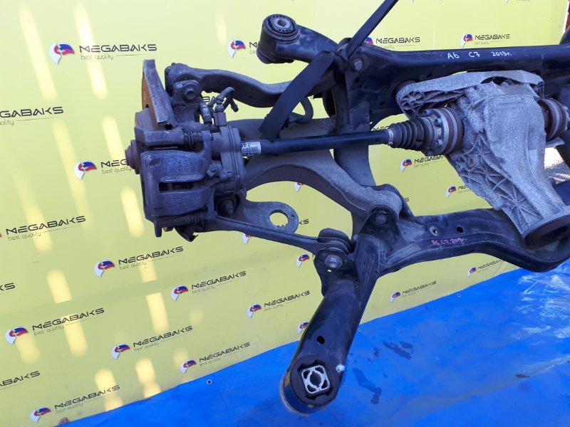 Привод Audi A6 C7 CHVA 2013 задний правый (б/у)