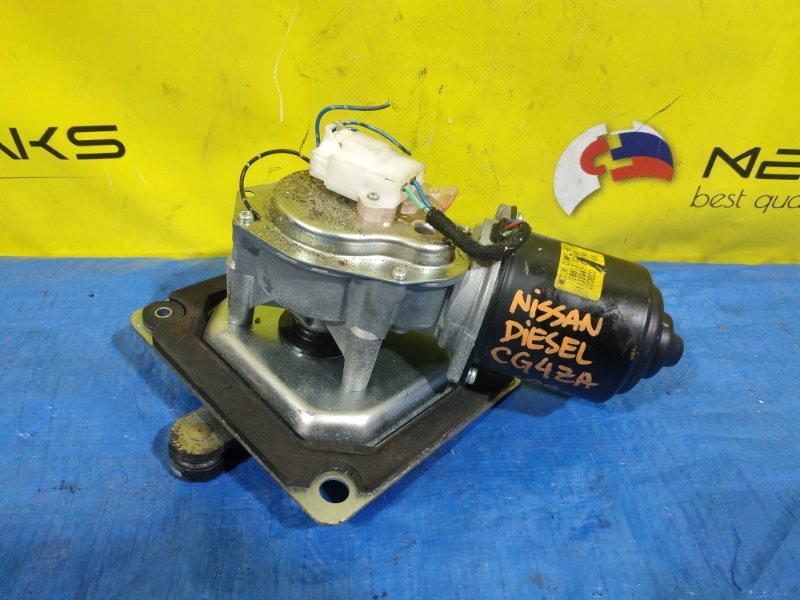 Мотор дворников Nissan Diesel CG4ZA 28810 07000 (б/у)