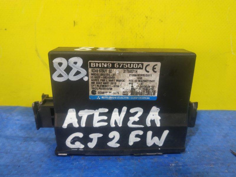 Электронный блок Mazda Atenza GJ2FW BHN9 675U0A (б/у)