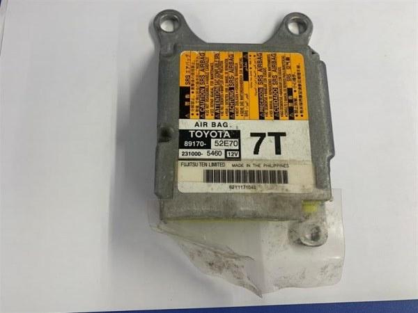 Блок управления airbag Toyota Ractis NCP120 1NR-FE 2010 89170-52E70 (б/у)