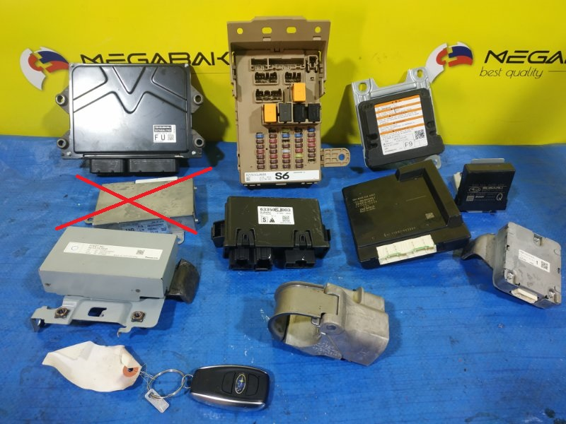 Электронный блок Subaru Forester SKE FB20 22765AL, 82201SJ600, 98221SJ100, 88801SJ041, 63350SJ003, 82131SJ000, 84051SJ010, (б/у)
