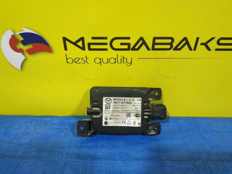 Электронный блок Mazda Axela BMLFS (б/у)