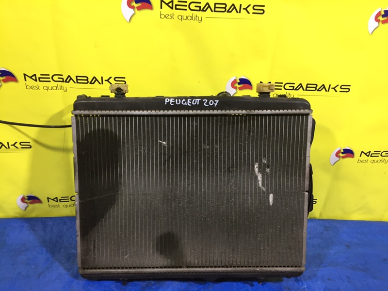Радиатор основной Peugeot 207 WC EP6 2007 (б/у)