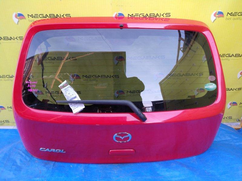 Дверь задняя Suzuki Alto HA36S (б/у)