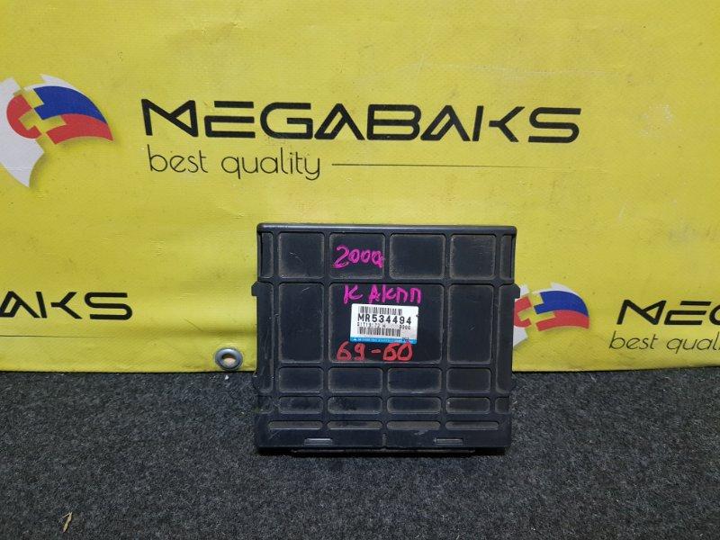 Блок управления акпп Mitsubishi Delica PD8W 4M40 MR534494 (б/у)