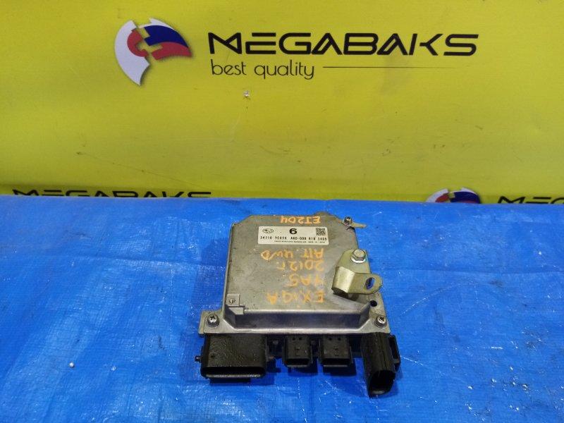 Блок управления рулевой рейкой Subaru Exiga YA5 34710 YC020 (б/у)