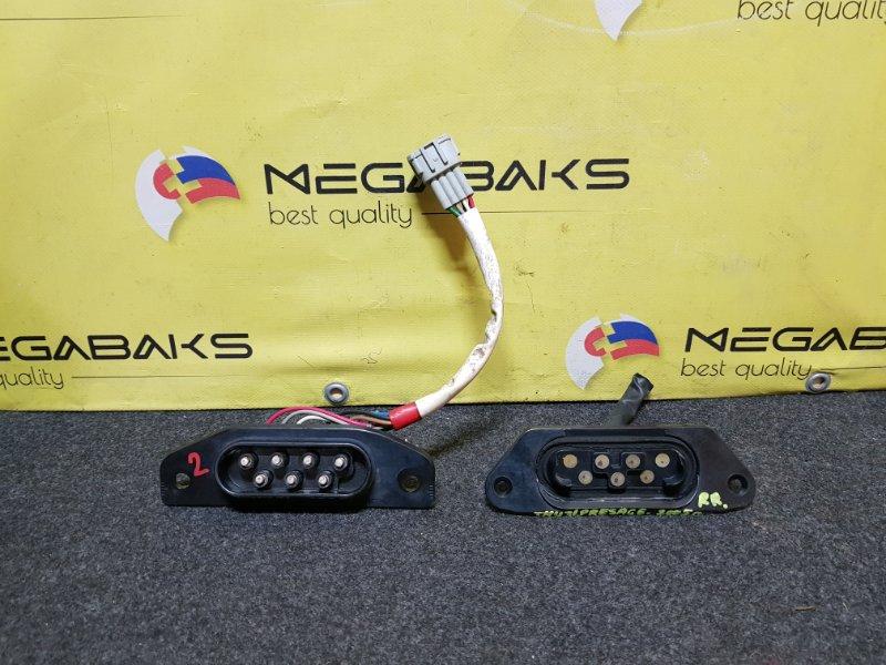 Контактная группа сдвижной двери Nissan Presage U31 задняя правая (б/у)