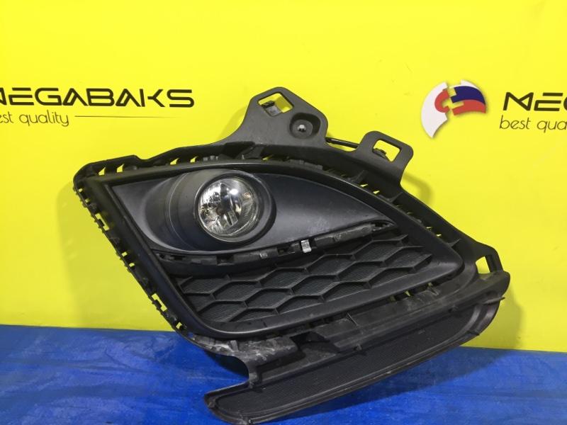 Туманка Mazda Atenza GH5AW передняя правая 114-61009 (б/у)