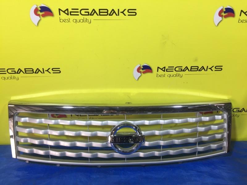 Решетка радиатора Nissan Moco MG33S 71741-50MF (б/у)