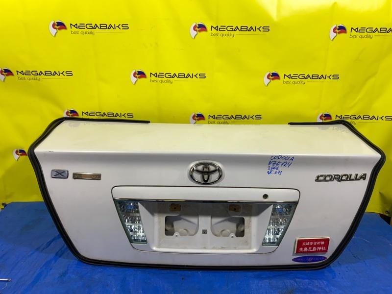 Крышка багажника Toyota Corolla NZE120 III MODEL (б/у)