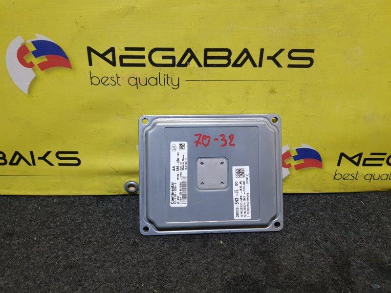 Блок управления акпп Honda Vezel RU4 28102-5N3-J5 (б/у)