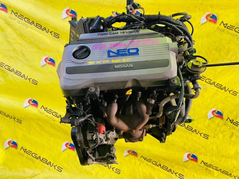 Двигатель Nissan Sunny FNB15 QG15DE 2001 298306 (б/у)
