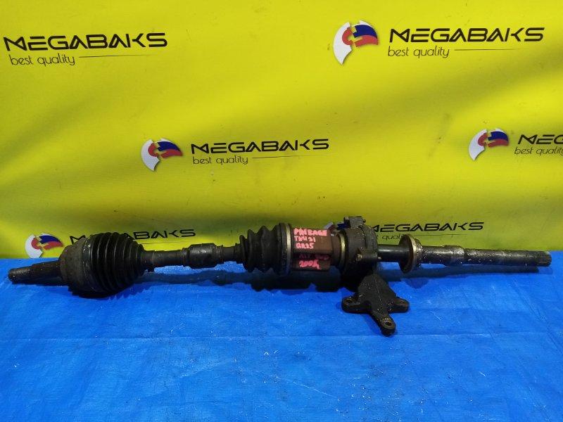 Привод Nissan Presage TNU31 QR25DE передний правый (б/у)