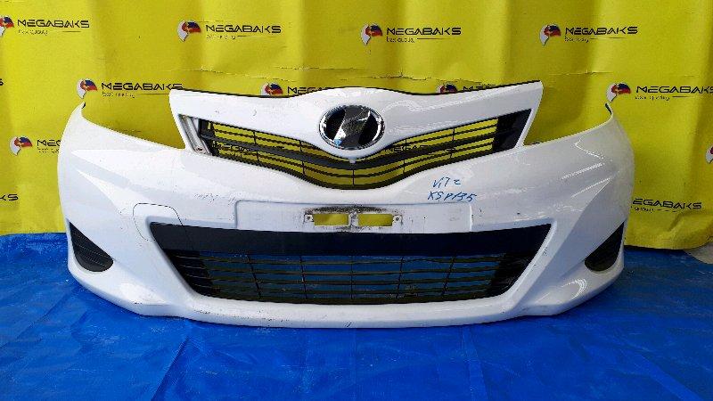 Бампер Toyota Vitz KSP130 передний (б/у)