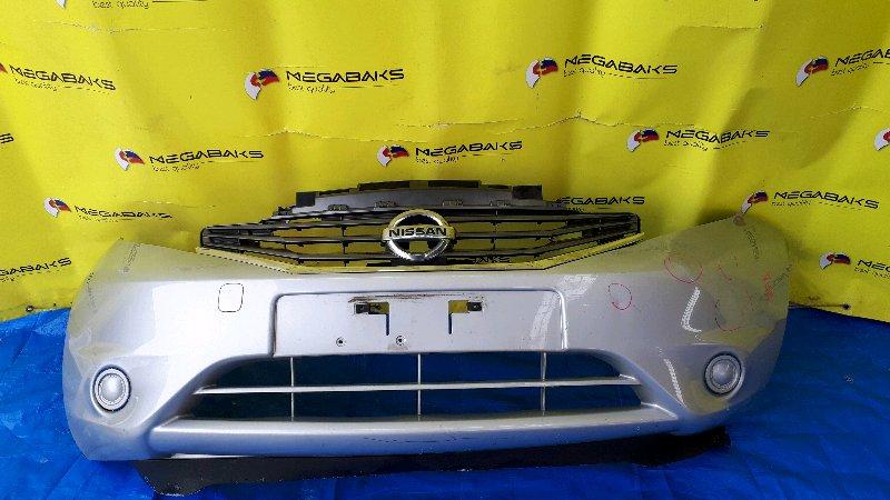 Бампер Nissan Note E12 передний (б/у)