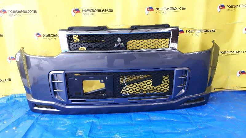 Бампер Mitsubishi Ek Wagon H82W передний (б/у)