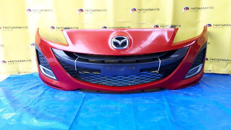 Бампер Mazda Axela BL5FW передний (б/у)