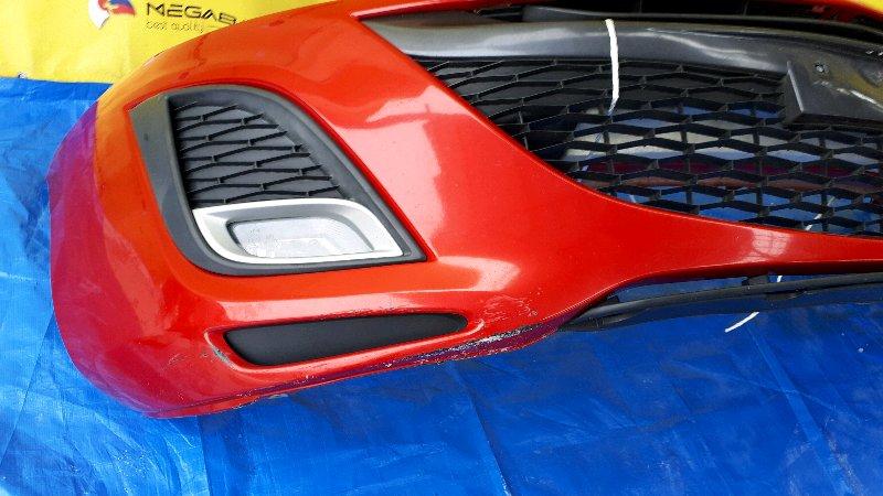 Бампер Mazda Axela BL3FW передний (б/у)