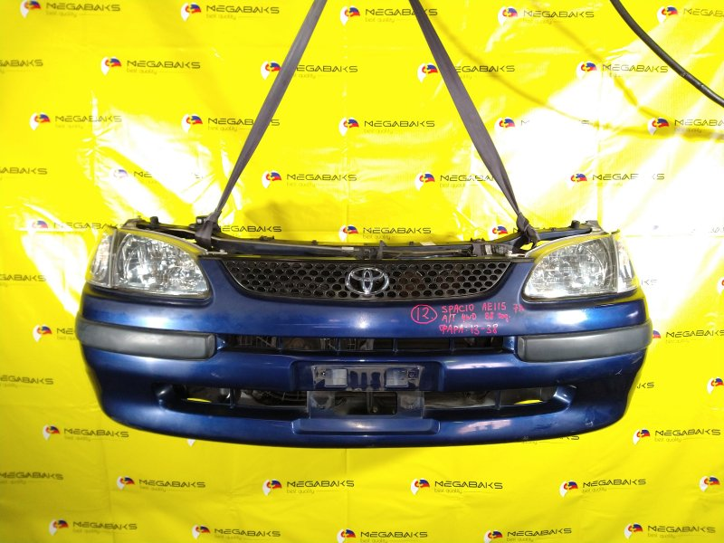 Nose cut Toyota Spacio AE115 7A-FE 1998 13-38 (б/у)