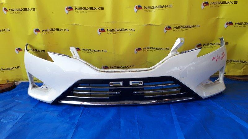Бампер Toyota Mark X GRX135 2015 передний (б/у)