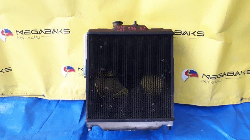 Радиатор основной Honda Logo GA3 D13B (б/у)