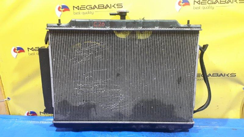 Радиатор основной Nissan Serena C26 MR20DD (б/у)