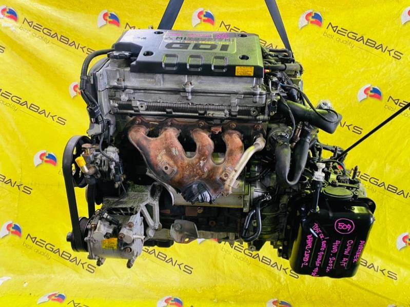 Двигатель Mitsubishi Airtrek CU4W 4G64 2002 GA7856 (б/у)