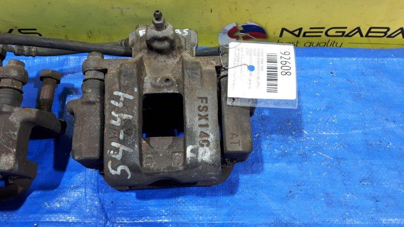 Суппорт Mitsubishi Canter FE70BS 4M42 передний правый верхний FSX14C (б/у)