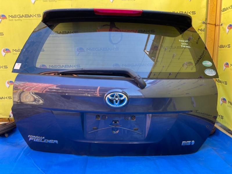 Дверь задняя Toyota Corolla Fielder NKE165 I MODEL, CAMERA (б/у)