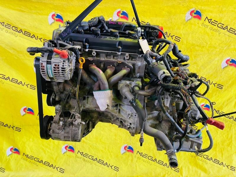 Двигатель Nissan Wingroad WRY11 QR20DE 2002 (б/у)