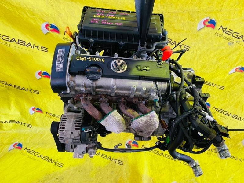 Двигатель Volkswagen Polo MK5 CGGB 2008 (б/у)