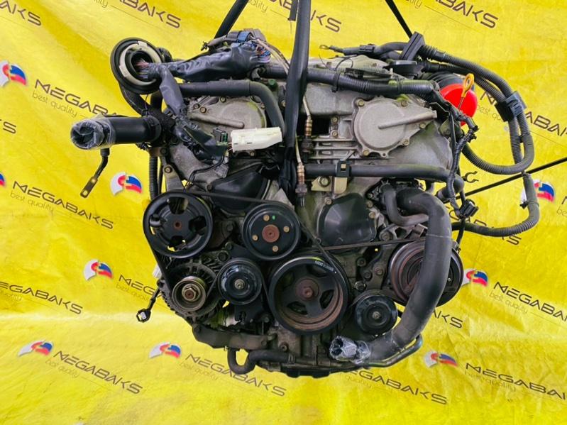 Двигатель Nissan Fairlady Z HZ33 VQ35DE 081498B (б/у)
