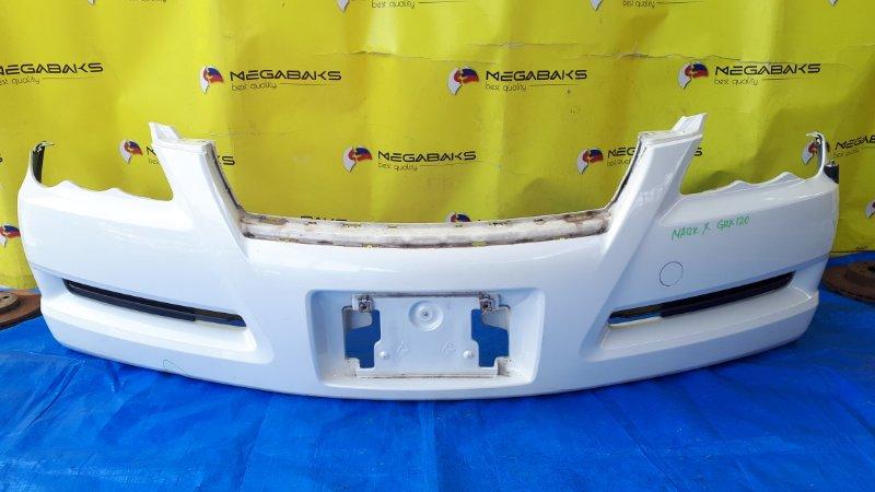 Бампер Toyota Mark X GRX120 передний I MODEL (б/у)