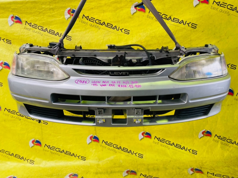 Nose cut Toyota Levin AE111 4A-FE 1997 12-420 (б/у)