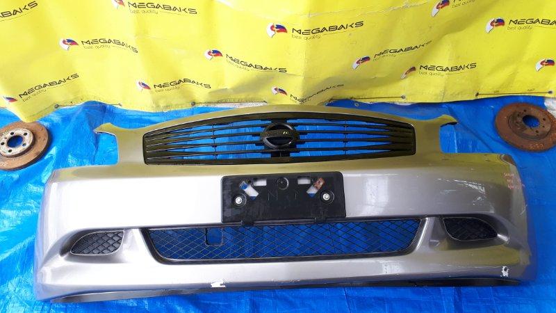 Бампер Nissan Skyline KV36 передний I MODEL (б/у)