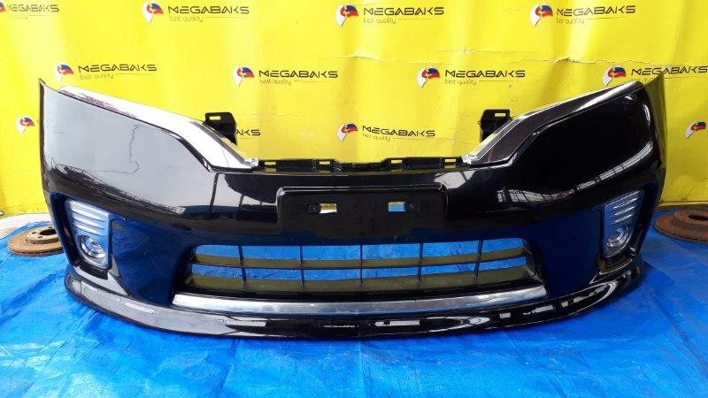 Бампер Nissan Serena C26 передний HIGHWAY STAR, LED (б/у)