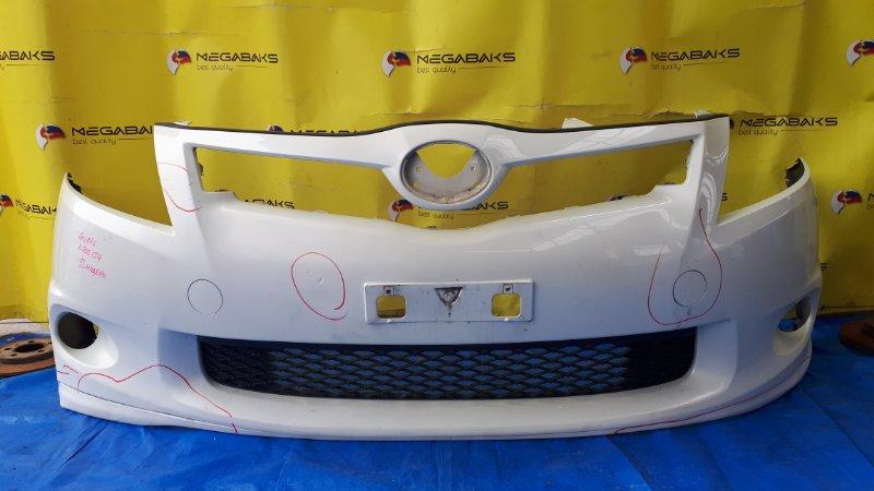Бампер Toyota Auris NZE151H передний II MODEL (б/у)