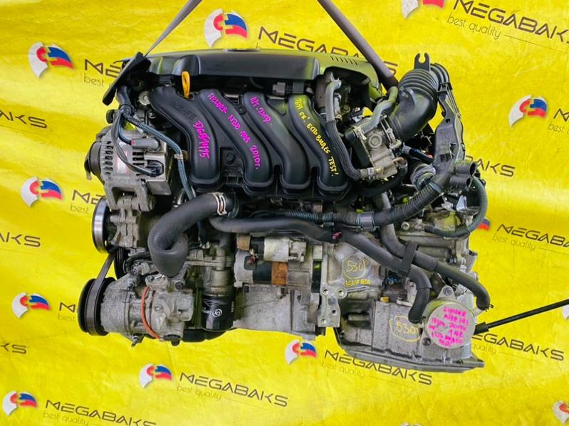 Двигатель Toyota Corolla Fielder NZE141 1NZ-FE 2010 D651475 (б/у)
