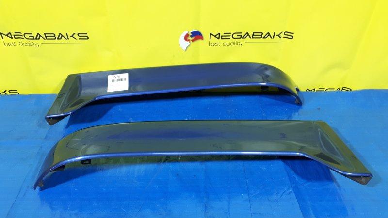 Накладка на бампер Nissan Avenir W11 задняя (б/у)