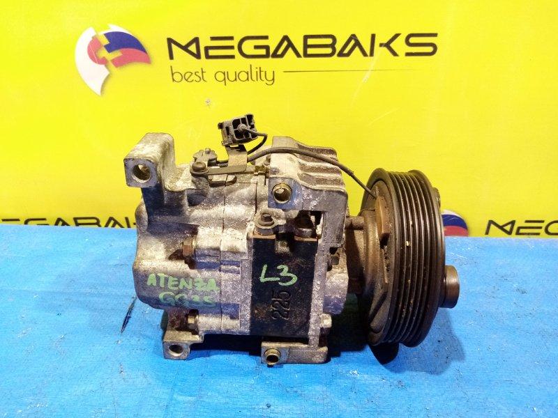 Компрессор кондиционера Mazda Atenza GYEW LF H12A1AF4DW (б/у)