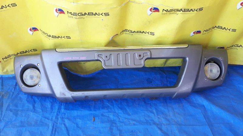 Накладка на бампер Nissan Serena C24 передняя (б/у)
