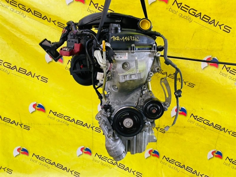 Двигатель Toyota Vitz KSP90 1KR-FE 1167262 (б/у)