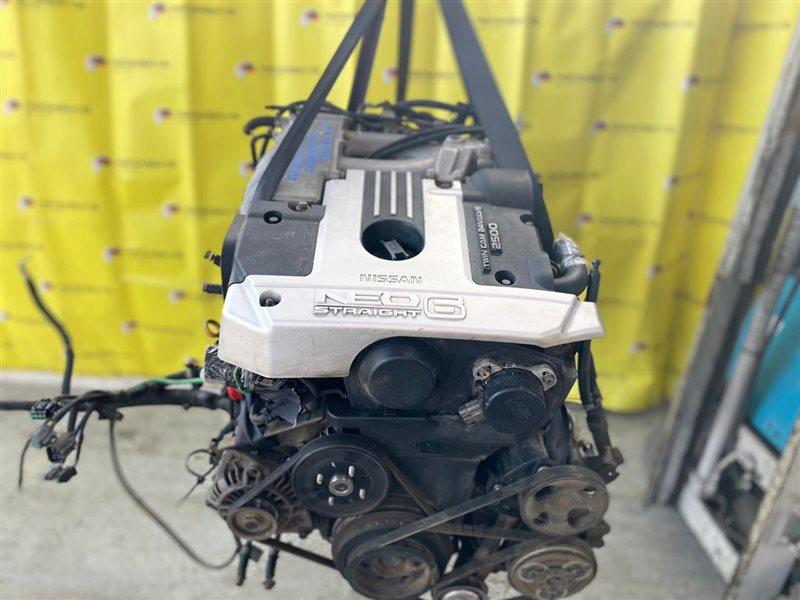 Двигатель Nissan Laurel GNC35 RB25DE 2002 703839X (б/у)