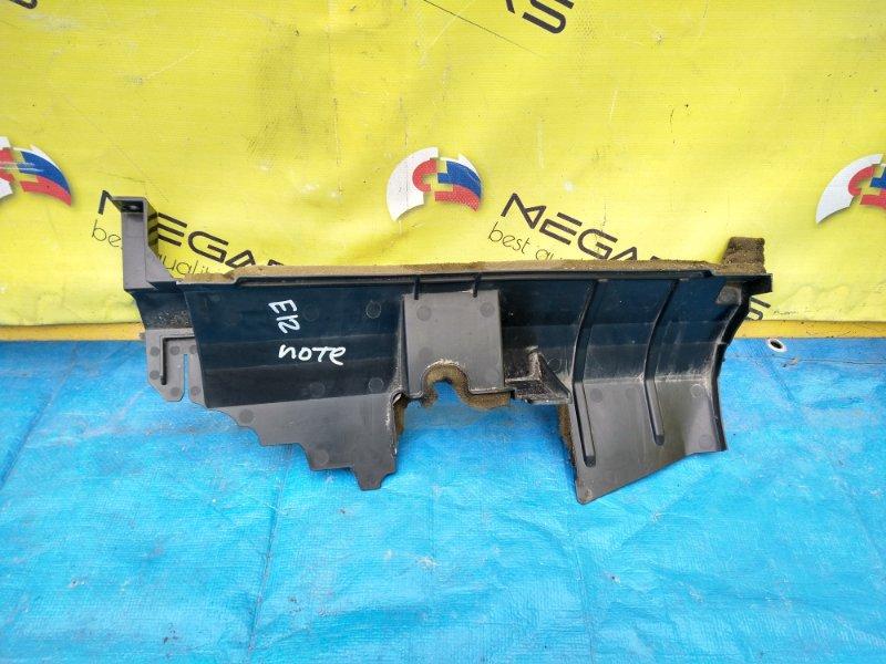 Защита радиатора Nissan Note E12 правая (б/у)