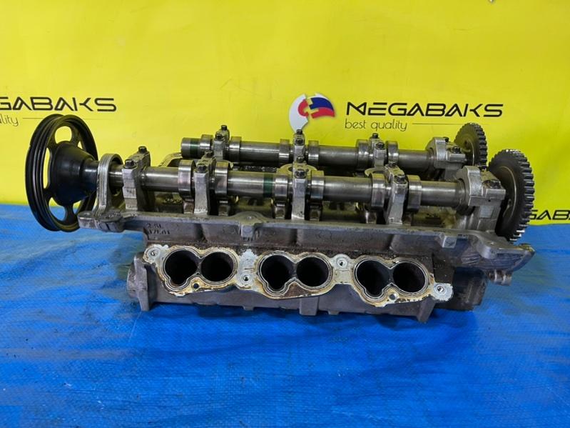 Головка блока цилиндров Mazda Mpv LW5W GY левая (б/у)