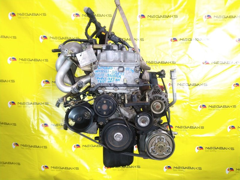 Двигатель Nissan Wingroad WHNY11 QG18DE 2003 (б/у)
