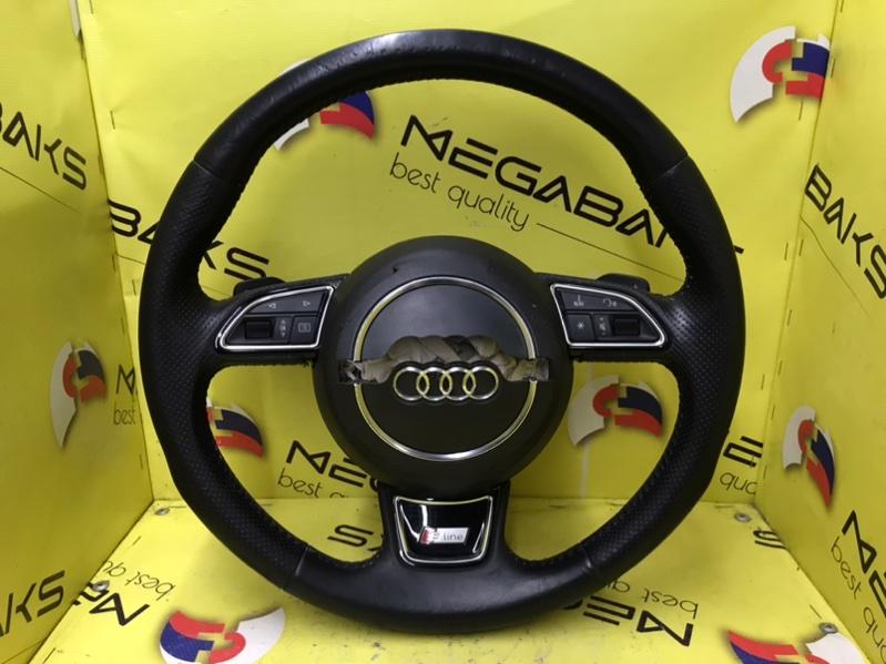 Руль Audi A6 C7 S-LINE (б/у)