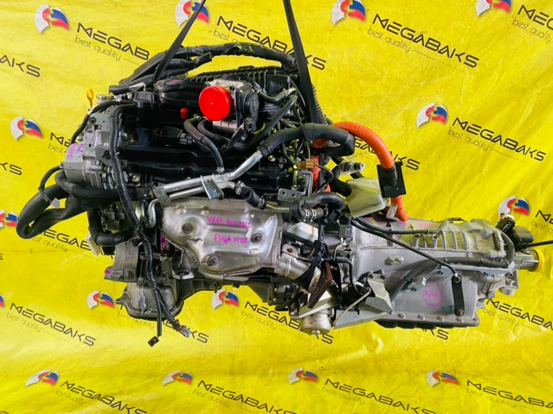 Акпп Nissan Fuga HY51 VQ35HR 2011 RE7R01H RE26 (б/у)