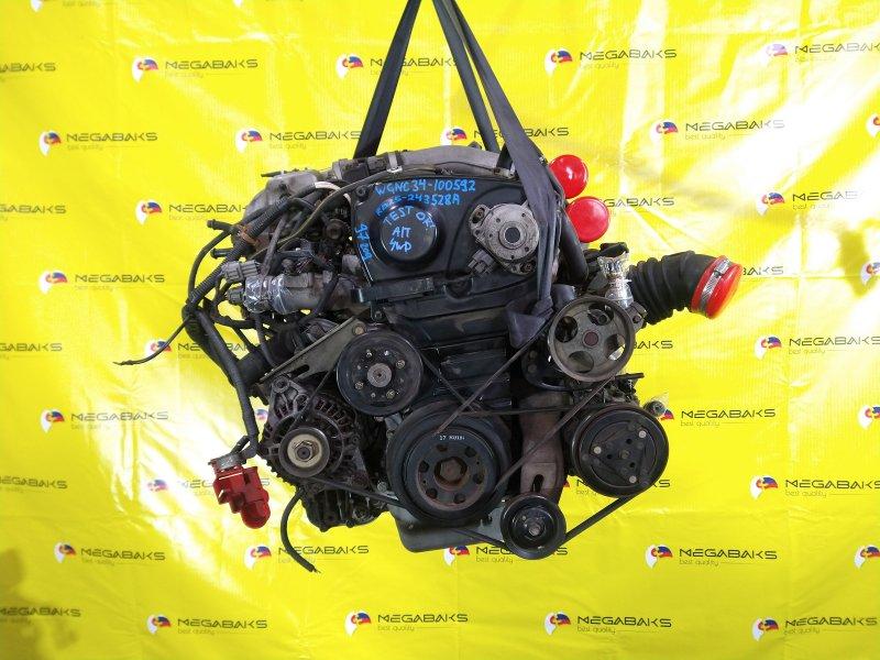 Двигатель Nissan Stagea WGNC34 RB25DET 1997 243528A (б/у)